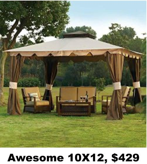 Awesome 10X12, $429 | Outdoor Spaces, Structures, Pavilions ...