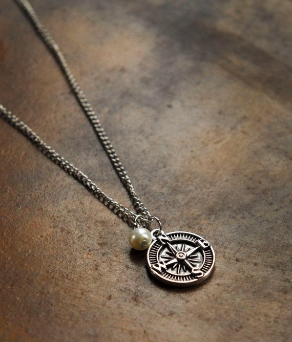best 25 compass necklace ideas on pinterest diy necklaces with quotes gifts for college. Black Bedroom Furniture Sets. Home Design Ideas