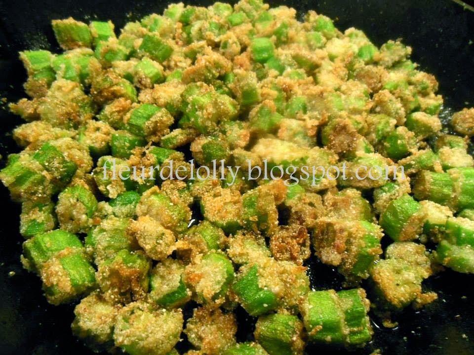 Fleur de Lolly: Fried Okra