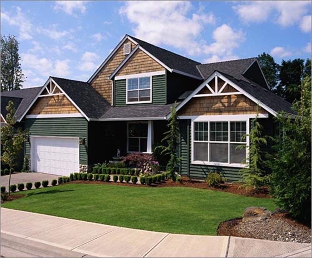 BuildDirect Red Cedar Shingles Sidewall Outdoor View