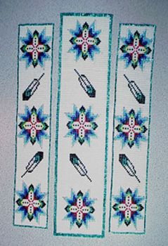 Fun Native American Beading Patterns Teal Feather