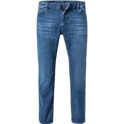 Boss Herren Jeans Maine, Regular Fit, Baumwoll-Stretch, dunkelblau Hugo Boss