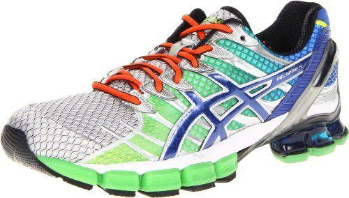 Asics Men S Gel Kinsei 4 Running Shoe Lime Royal Lightning 8 5 M