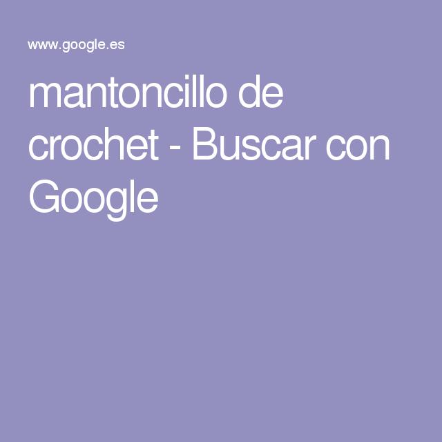 mantoncillo de crochet - Buscar con Google