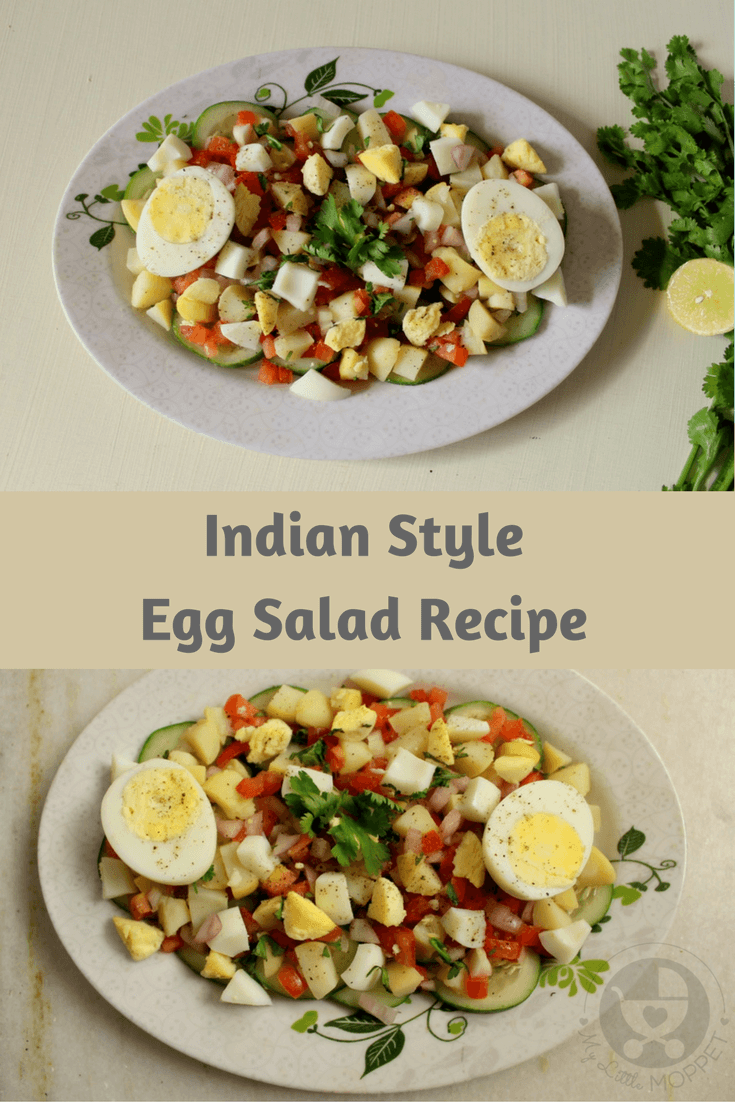 Indian Style Healthy Egg Salad #boiledeggnutrition Boiled eggs are bursting with nutrition, but may not always be welcomed by kids! Try out this Indian style egg salad that's also loaded with veggies! #boiledeggnutrition Indian Style Healthy Egg Salad #boiledeggnutrition Boiled eggs are bursting with nutrition, but may not always be welcomed by kids! Try out this Indian style egg salad that's also loaded with veggies! #boiledeggnutrition
