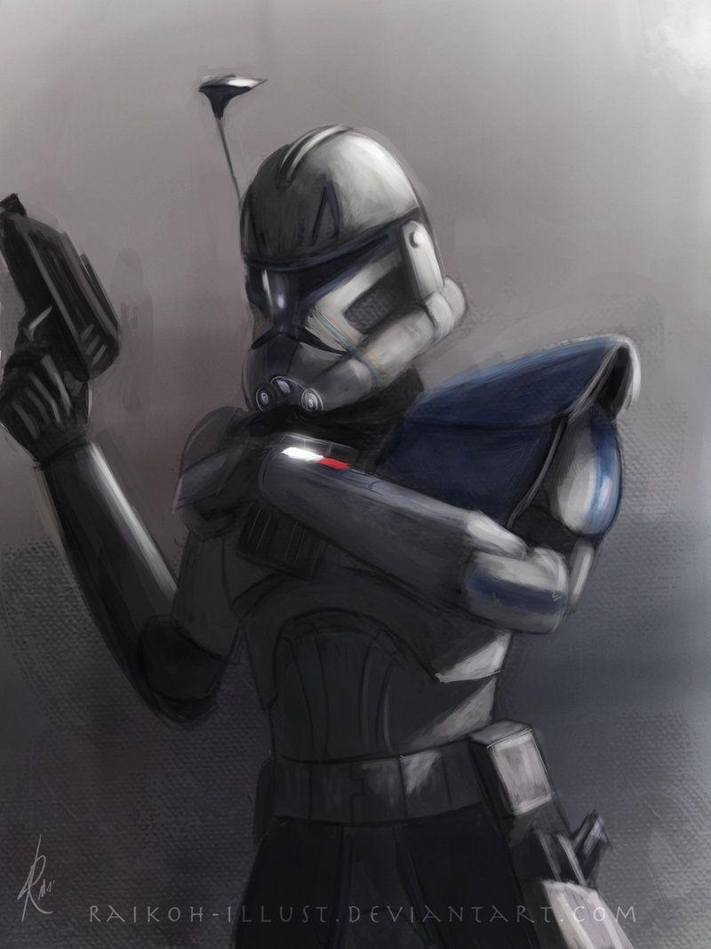 Captain Rex By Raikoh Illust On Deviantart Star Wars Pictures Star Wars Images Star Wars Wallpaper