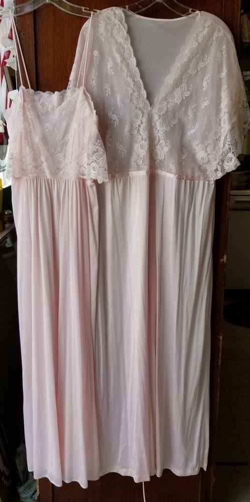 Pin on Vintage Lingerie Nightgowns Sleepwear