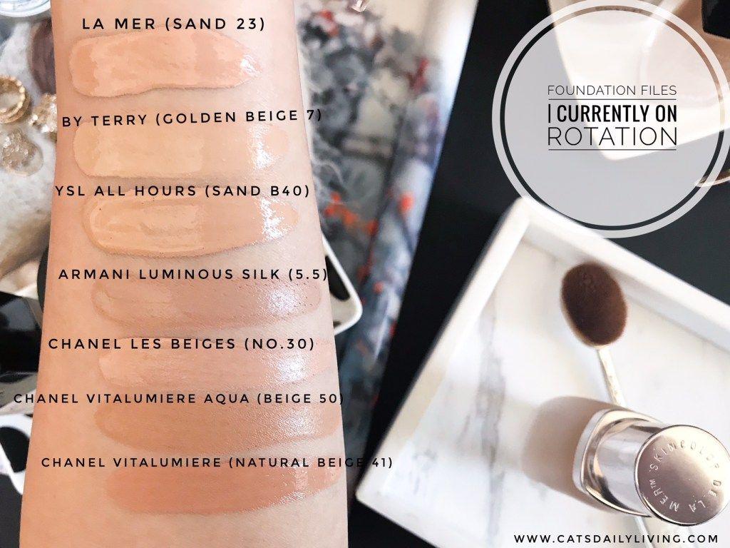 Foundation Files Ysl beauty, La mer foundation, Chanel