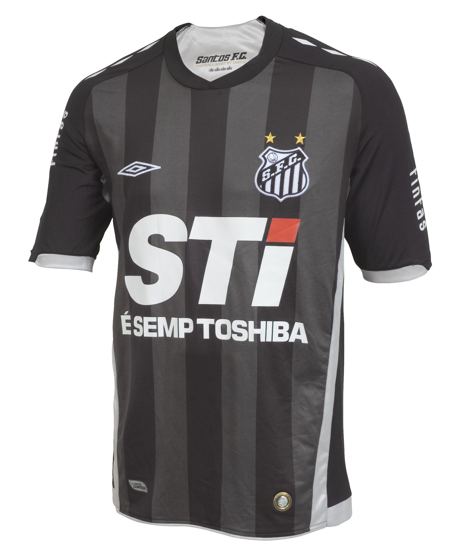 d05815c381c3b Santos FC    2009 (nearly) official 3rd away uniform. Wonderful (except the  enormous and ugly sponsor!) one that unfortunately I don t have it.