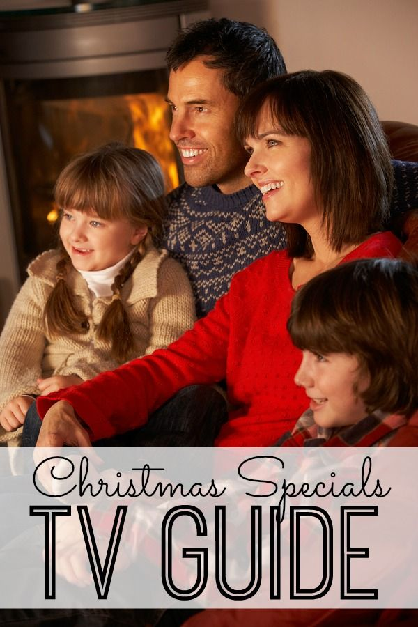 Don't miss any of your favorite holiday or christmas tv shows.