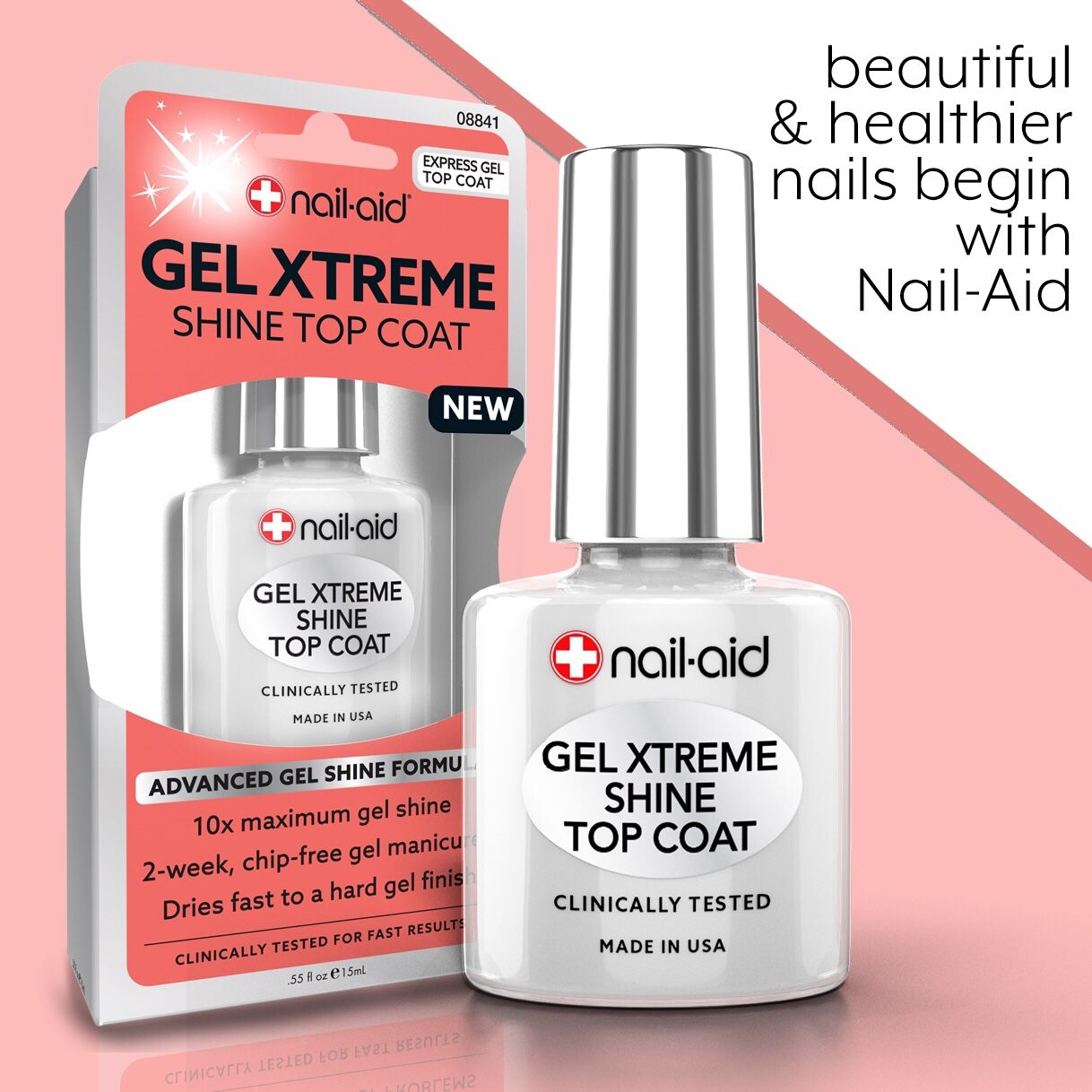Keep Your Manicure Lasting Longer Gel Xtreme Shine Top Coat Our Advanced Gel Shine Technology Top Coat Leaves Nails W Nail Polish Addict Nail Care Hard Gel
