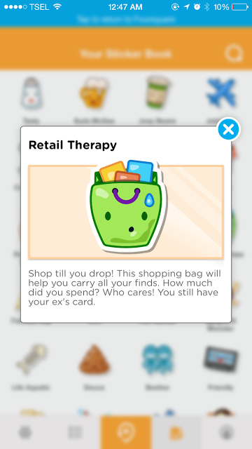 Retail Therapy - Check in at 3 shop venue categories