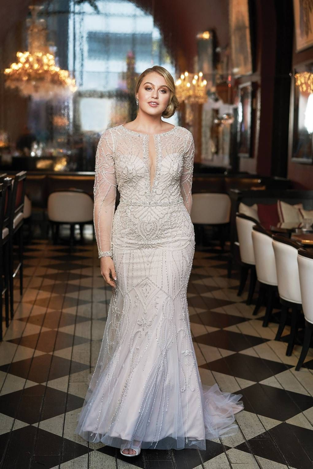 Girls wedding dress  Youull Love Iskra And Justin Alexanderus uBe Youu Bridal Campaign