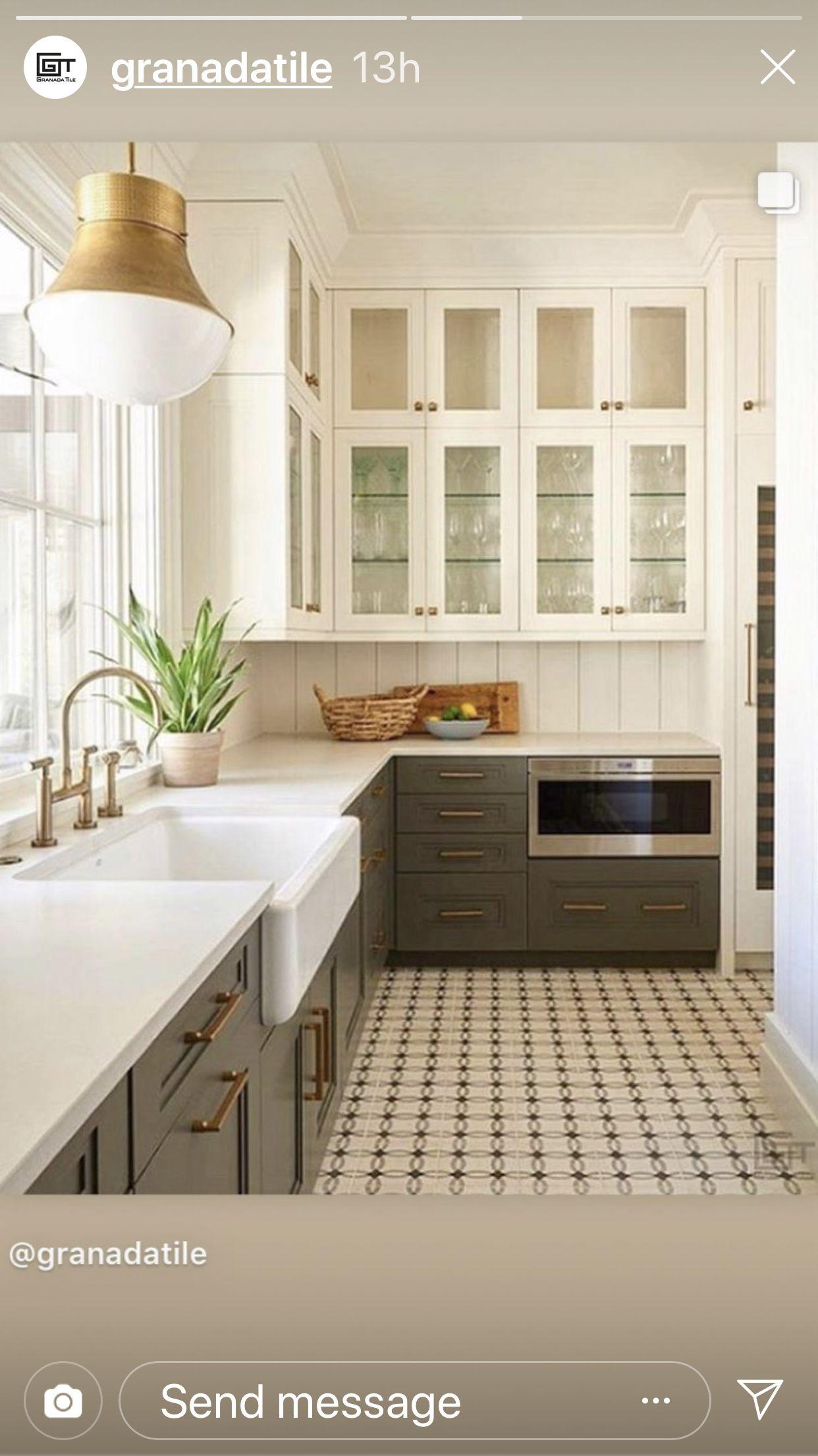 Pin by Toni McKay on KITCHENS Concrete kitchen floor