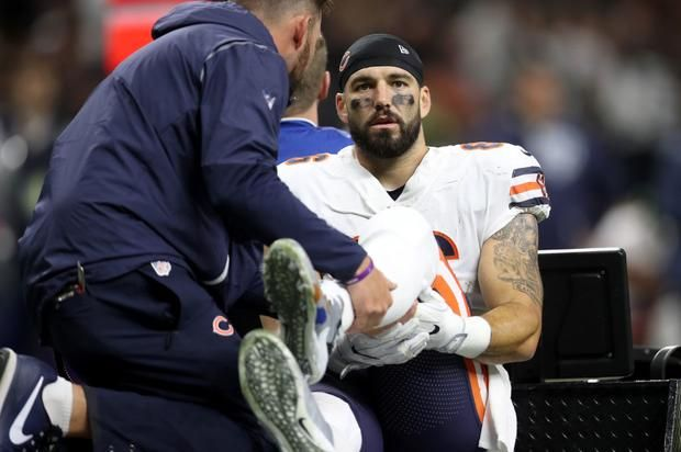 Bears' Zach Miller In Danger Of Losing Leg After Horrific Injury