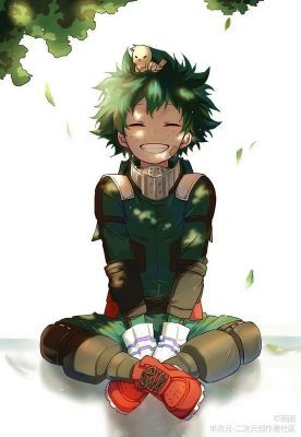 What would Izuku say if he met you | They are very nice!