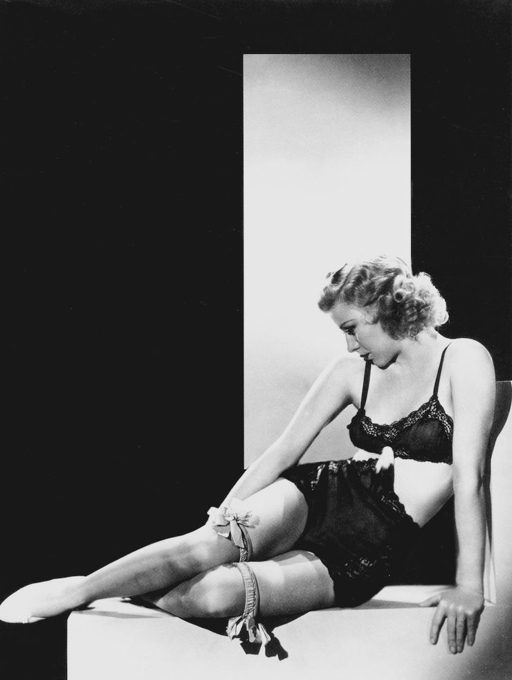 Congratulate, simply ginger rogers lingerie about such