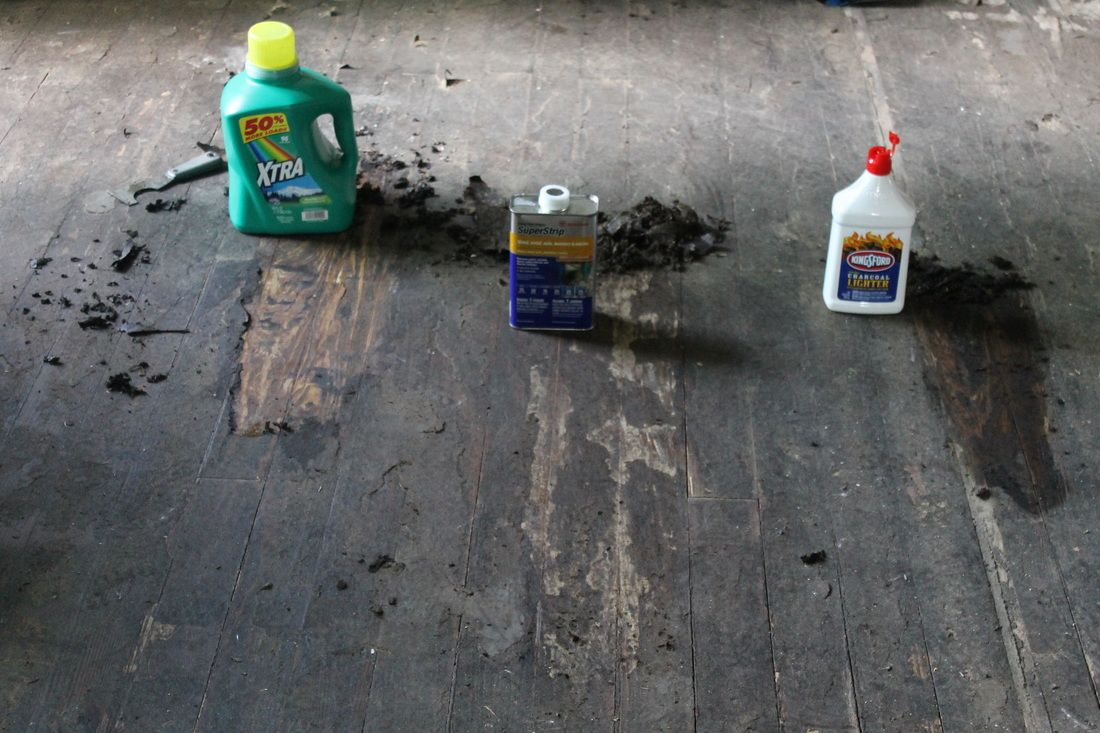 Removing Tar Adhesive From Hardwood Floorswhat Worked For Us In - How to remove tar adhesive from wood floor