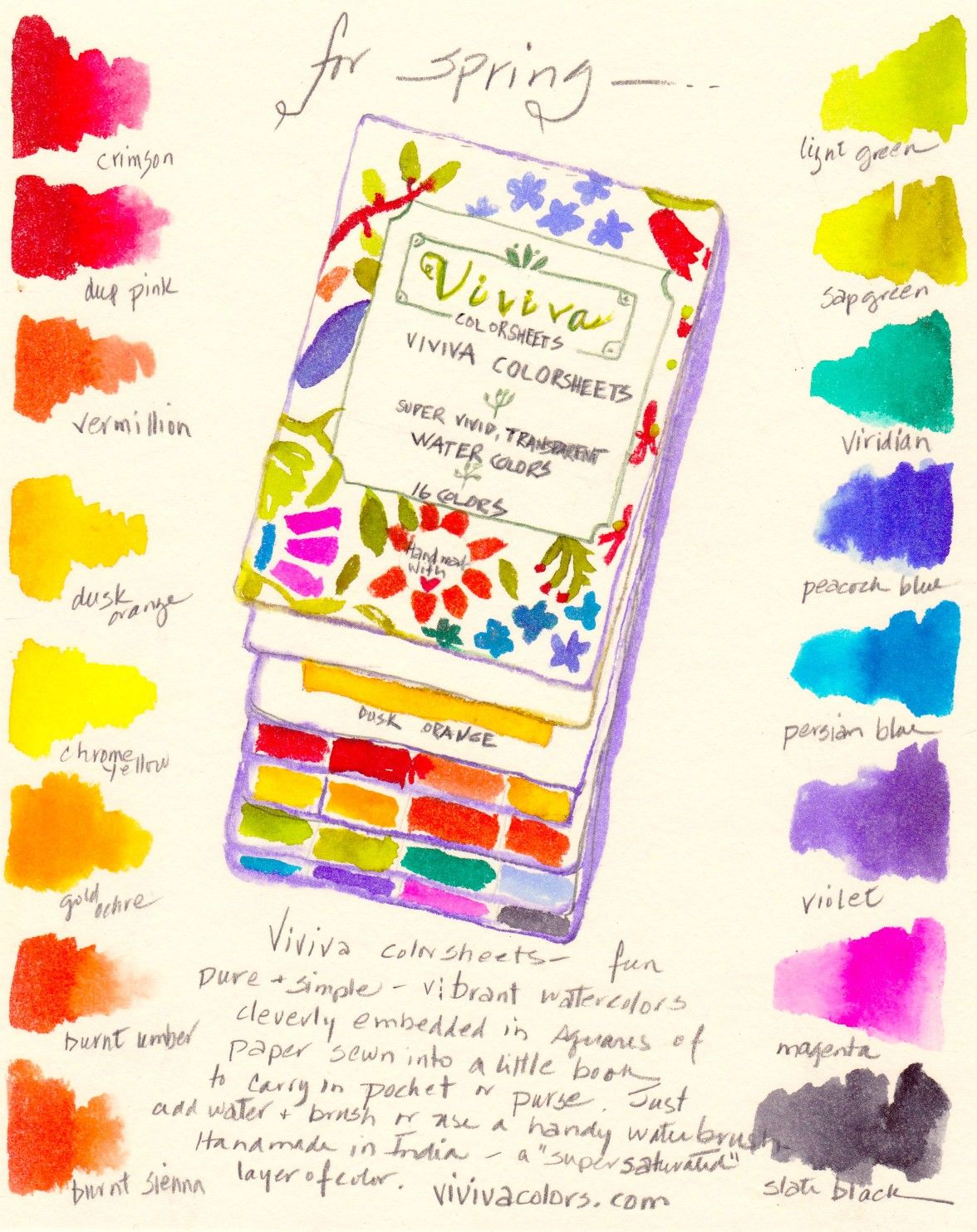 Viviva Colorsheets Is A New And Unique Way For You To Easily Paint