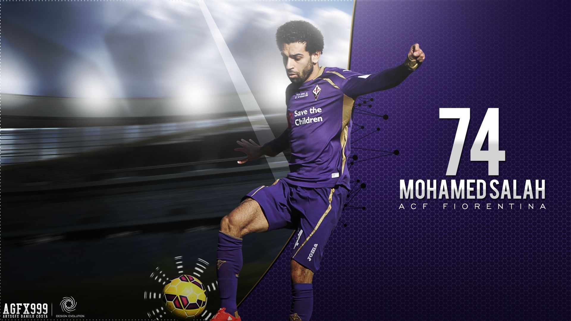 Mohamed Salah Fiorentina Wallpaper