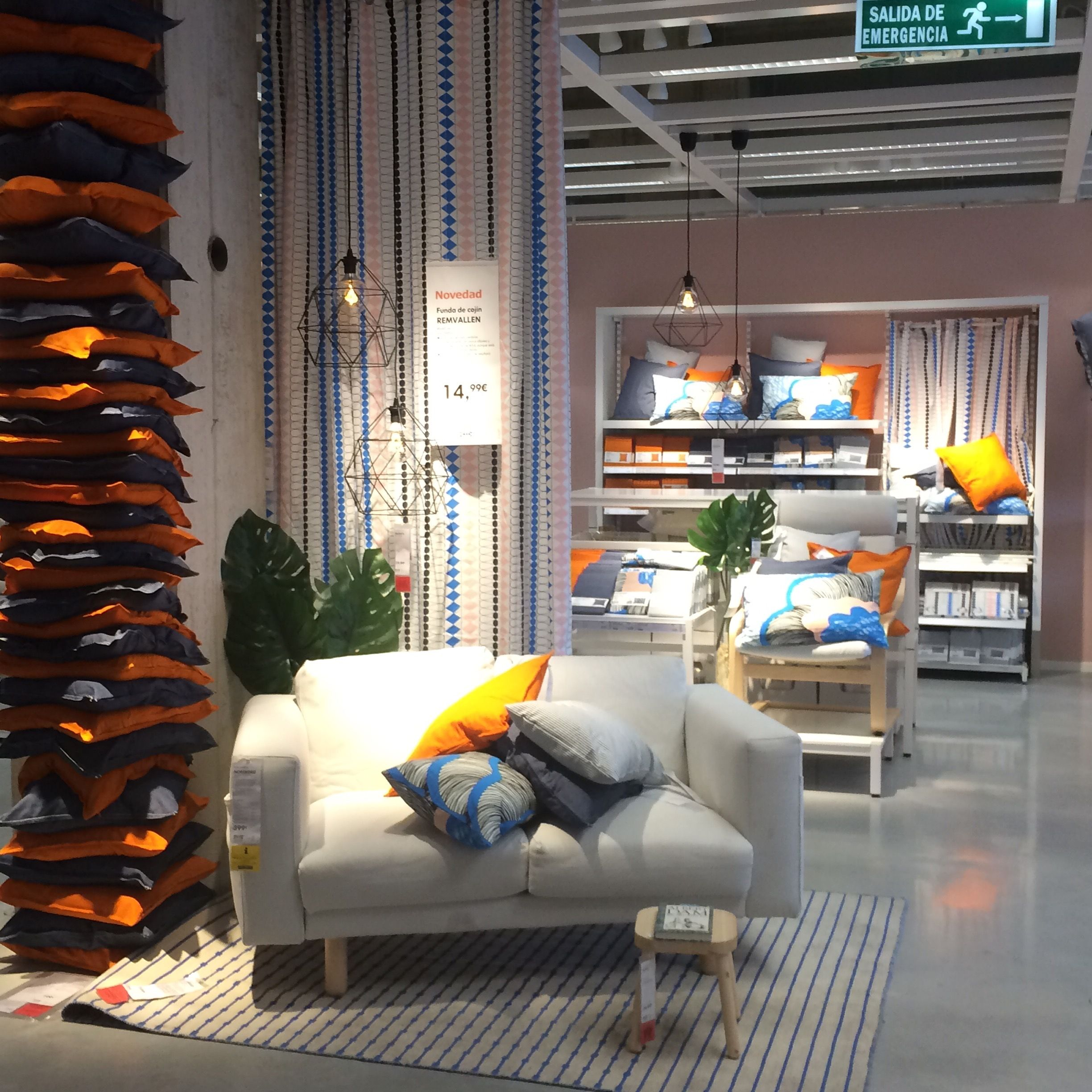 IKEA Alcorcon, Madrid, home textiles display | Collage- main ...