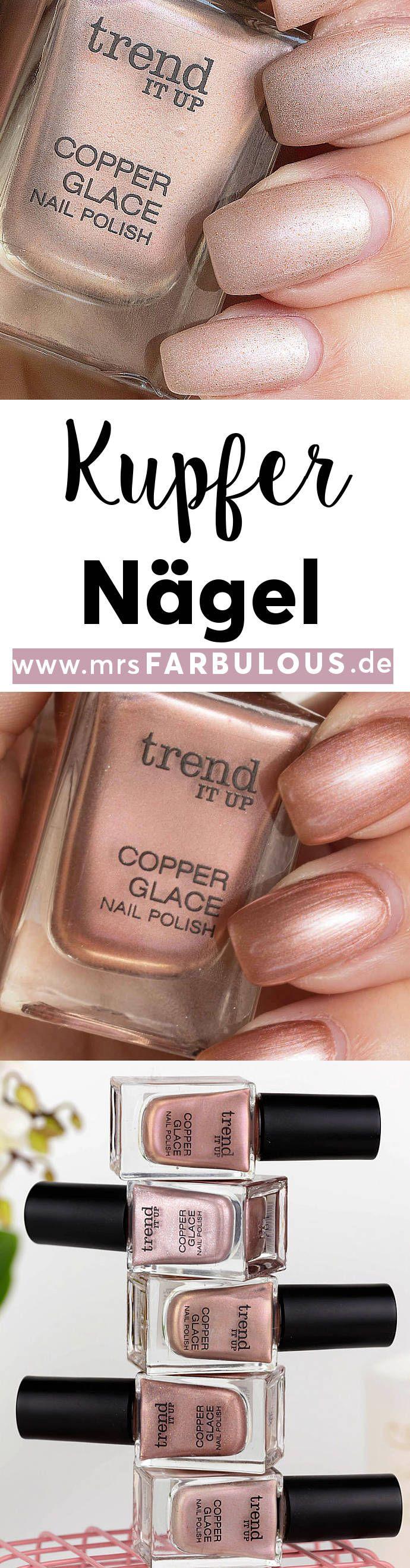 trend IT UP Copper Glace Kupfer für deine Nägel | Kupfer Farbe ...