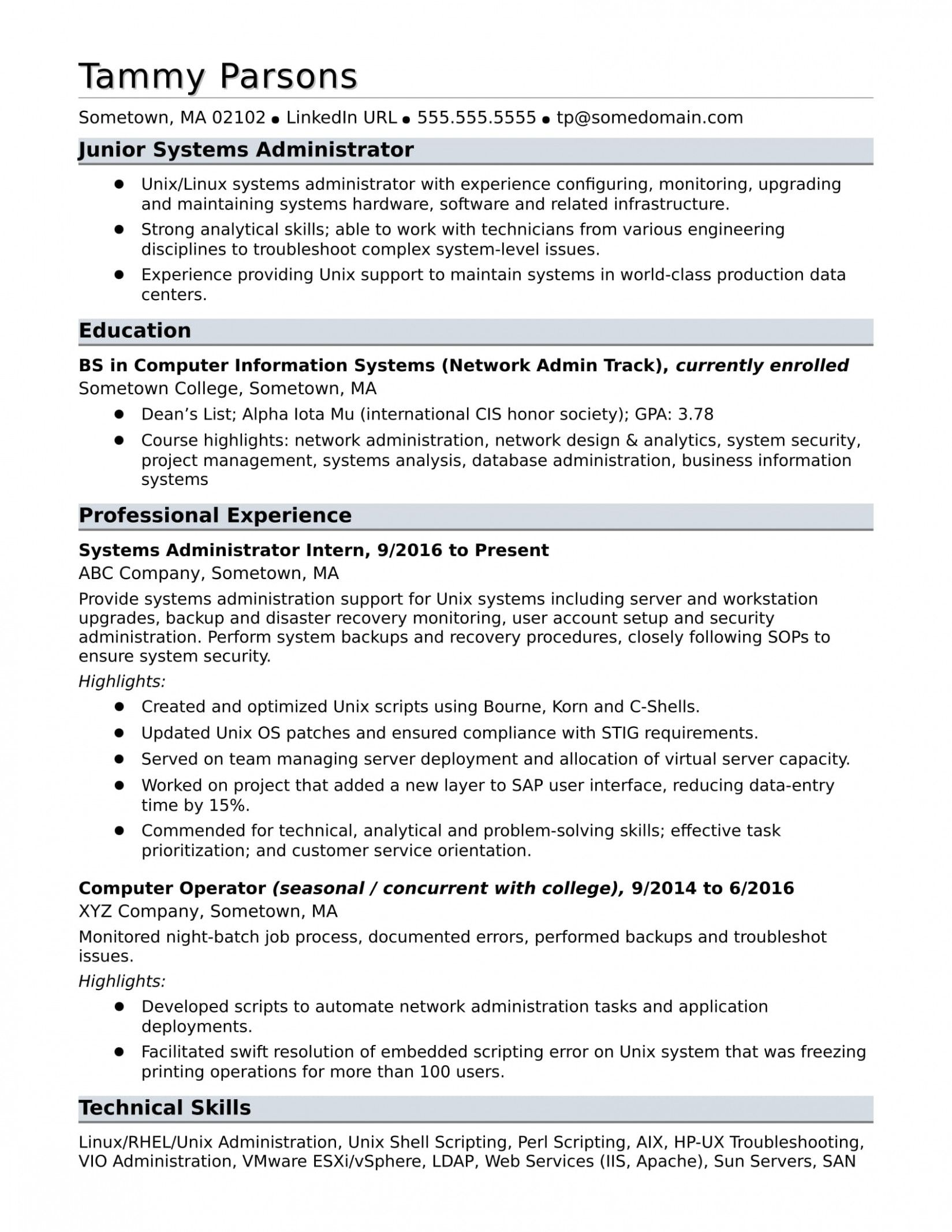 12 Linux Fundamental Resume