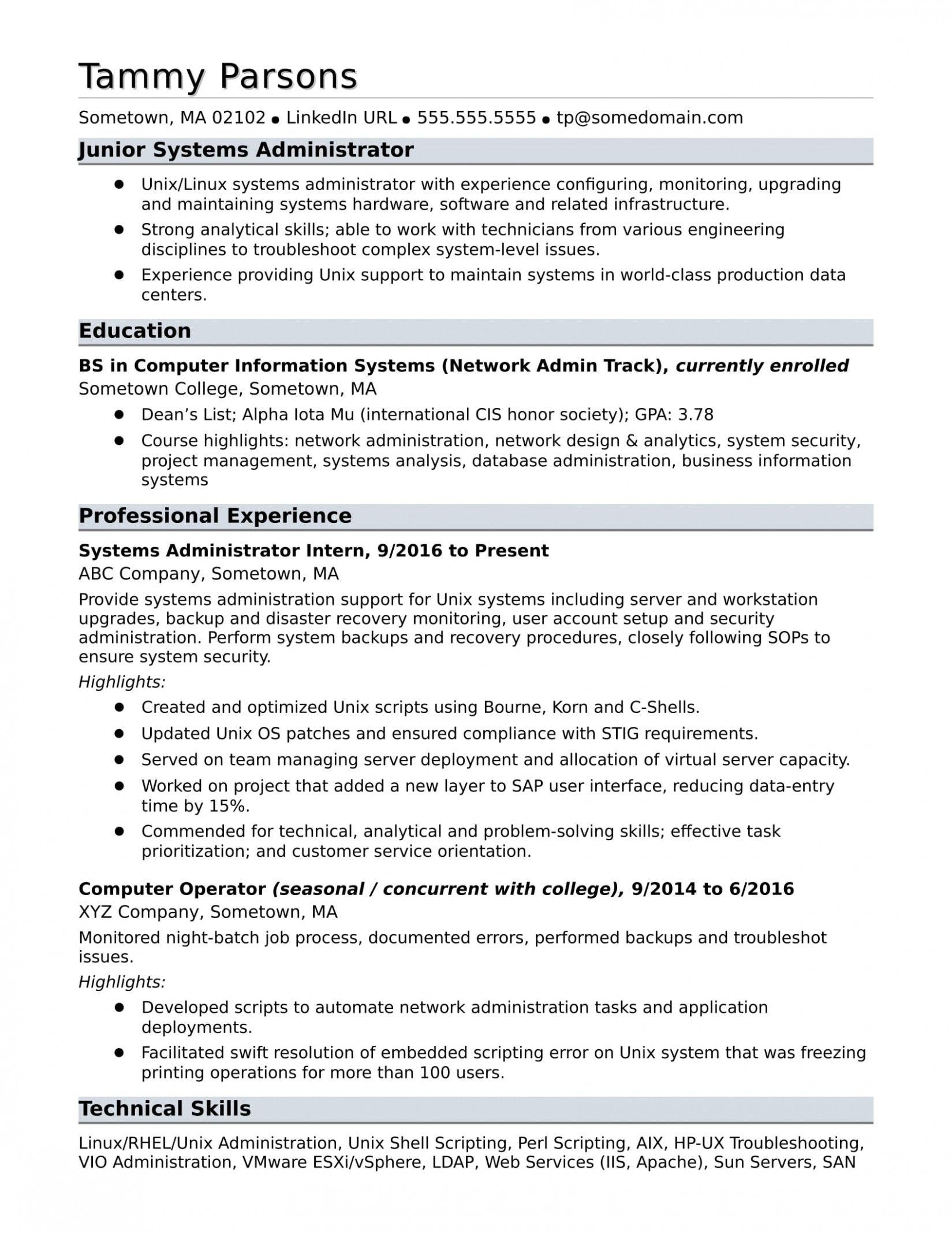 12 Linux Fundamental Resume Di 2020