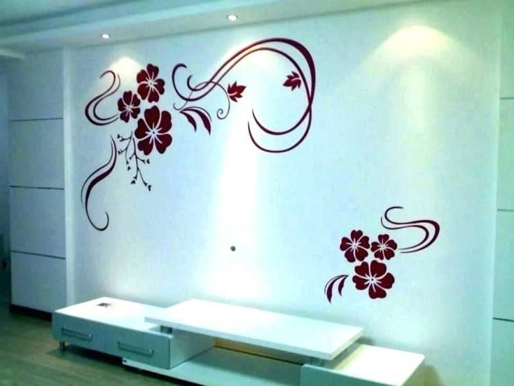 Bathroom Ideas Painted Walls Diy Wall Painting Simple Wall