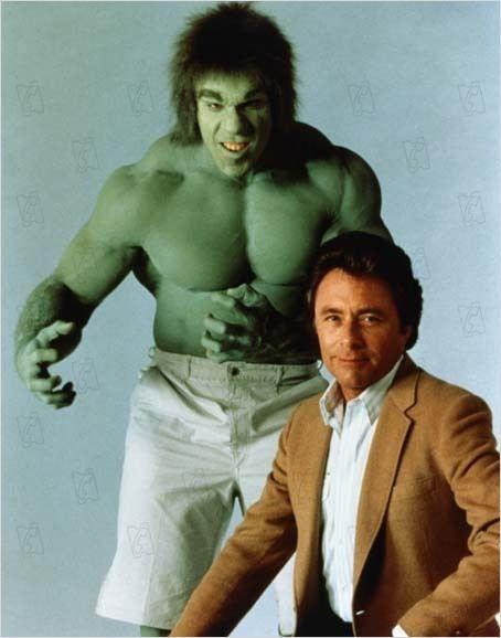 Foto De Lou Ferrigno En La Serie El Increible Hulk Mejores Series Tv Televisión De época Series Y Peliculas