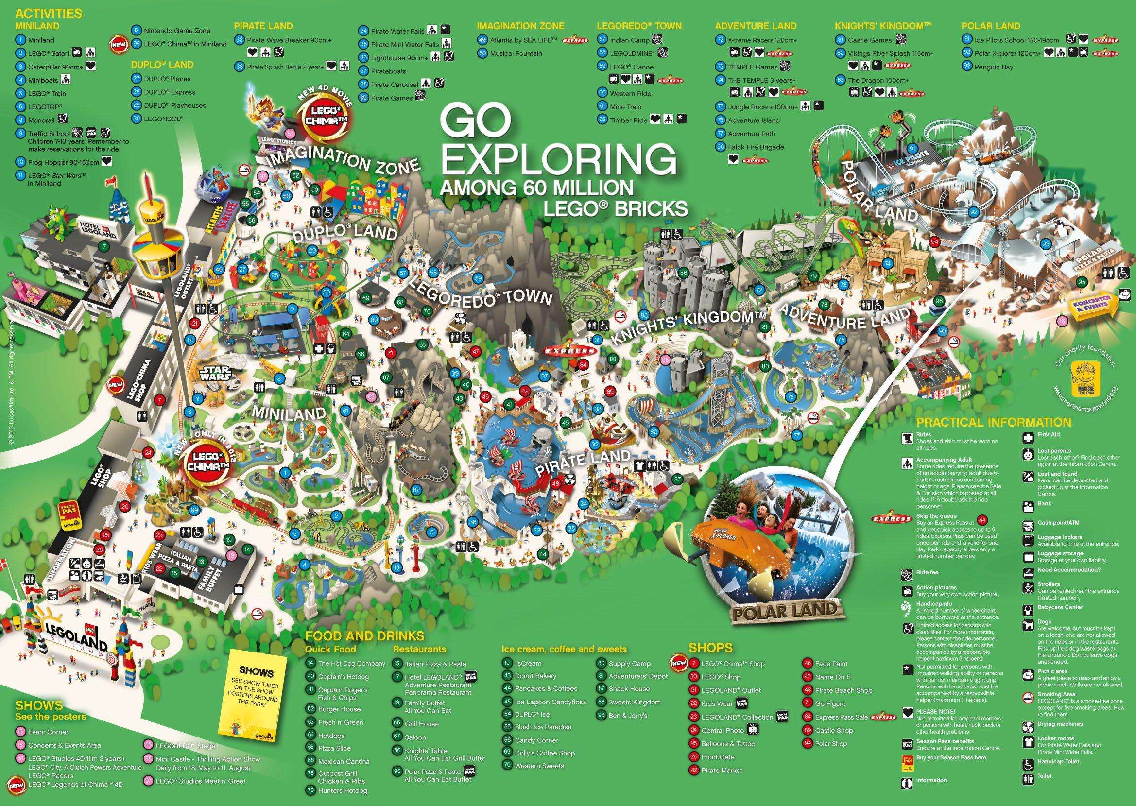 legoland park map denmark i miss you pinterest