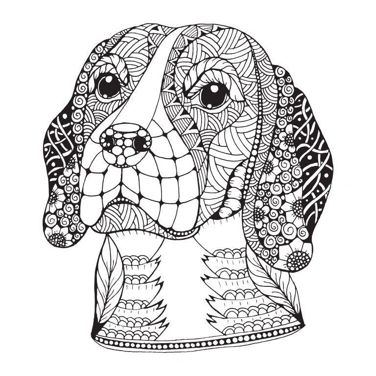 colorear Mandalas de perros | Mandalas | Pinterest | Mandalas ...