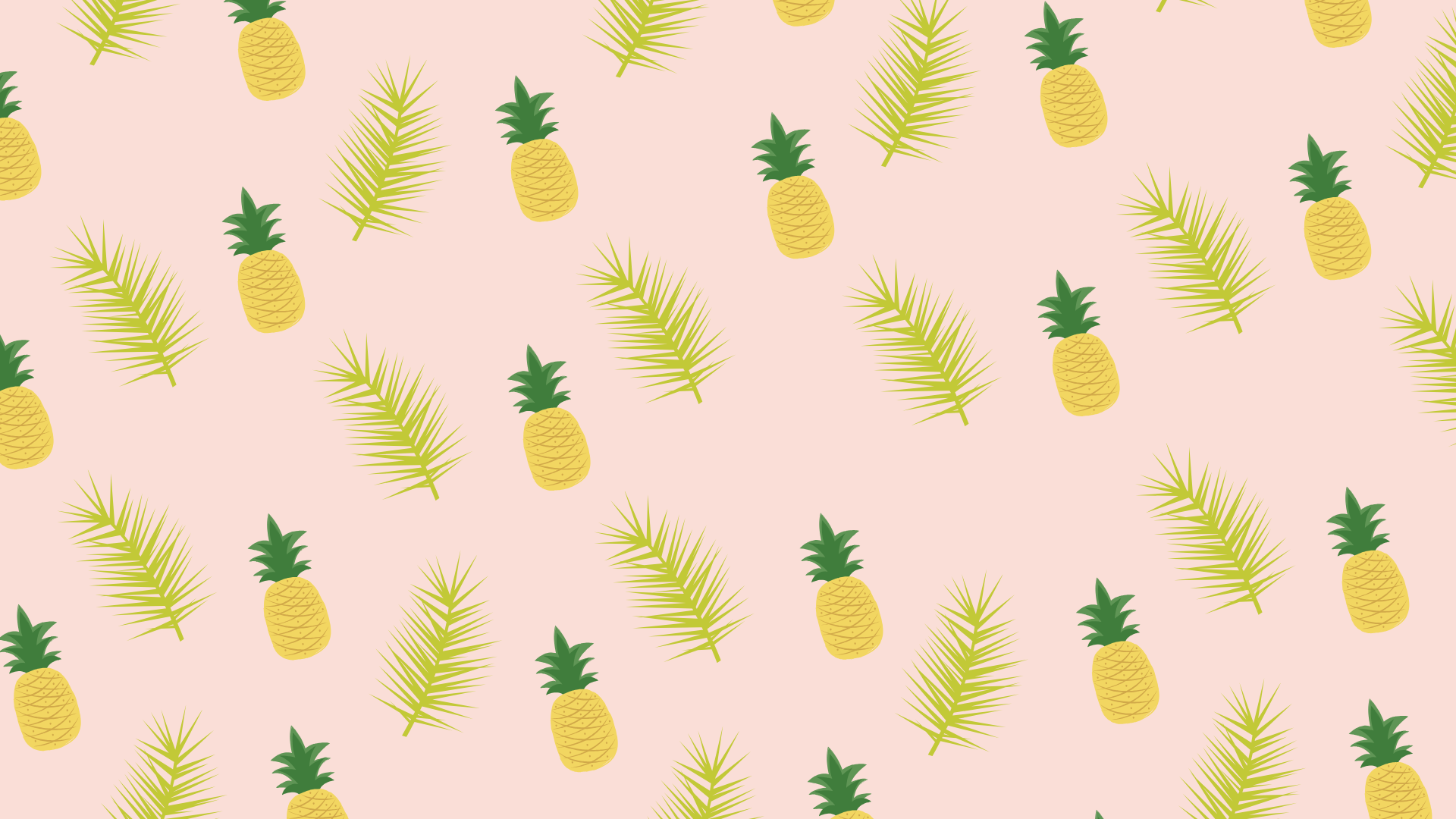 Pineapple Leaf Pattern Pastel Dreams Free Macbook Laptop And Desktop Wallpaper Background S Desktop Wallpapers Backgrounds Pineapple Wallpaper Iphone Instagram