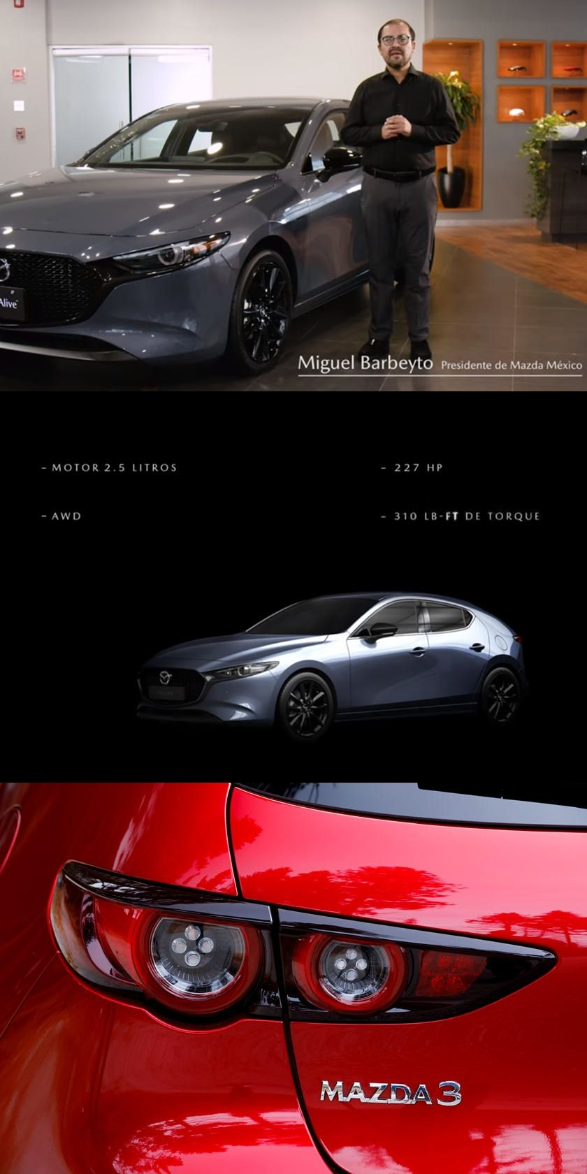 Turbocharged Mazda 3 Will Come With 227 Hp Mazda Of Mexico Has Revealed Some Of The New Car S Secrets Ahead Of Time In 2020 Mazda Mazda 3 New Cars