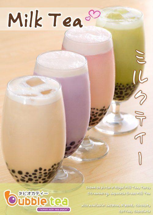 Boba Milk Tea 3 Jugos Té