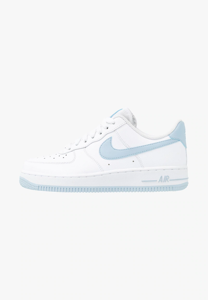 Nike Sportswear Air Force 1 07 Sneakers Laag White Light Armory Blue Zalando Nl Nike Air Force Outfit Nike Nike Shoes Air Force