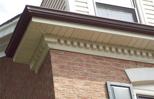 Molding Exterior Brick Dentil Moulding House Exterior