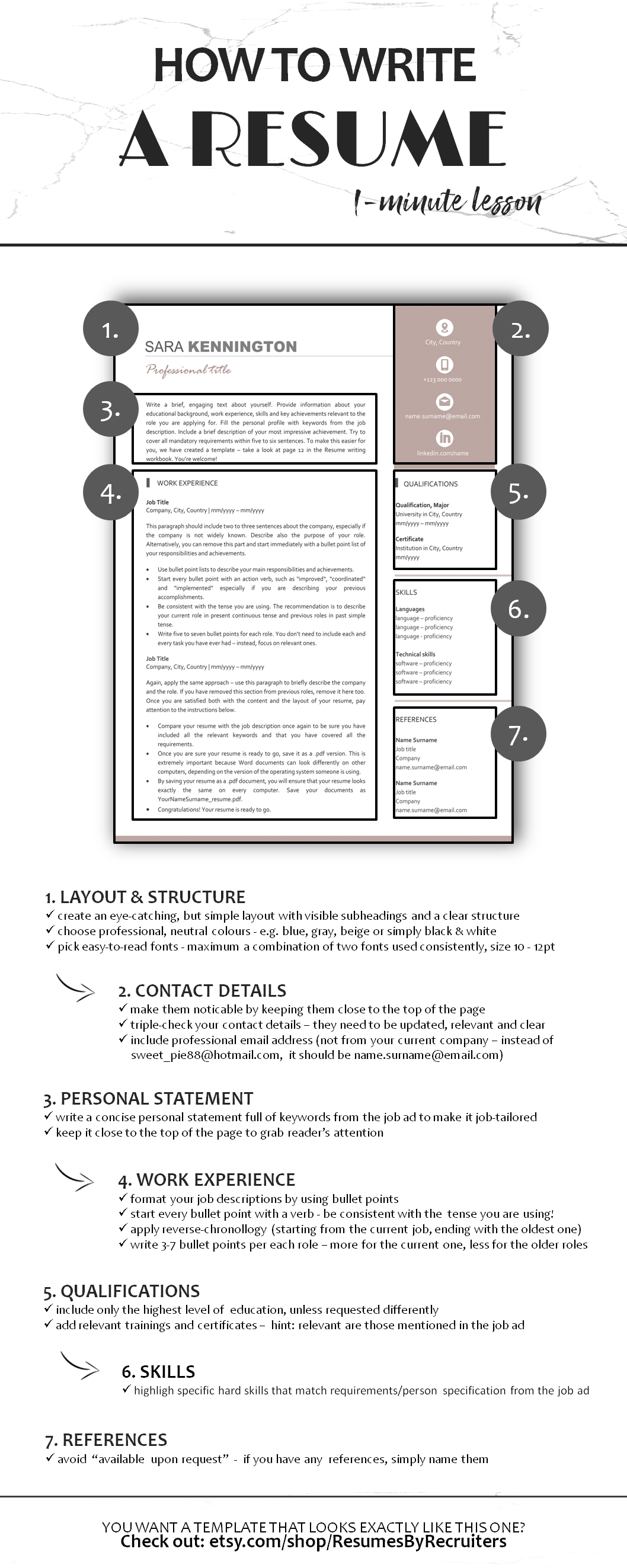 Cv Writing Tips Learn How To Create A Perfect Resume In Less Than One Minute Resume Cv Howtowriteresume Resumewriti With Images Resume Advice Resume Writing Templates