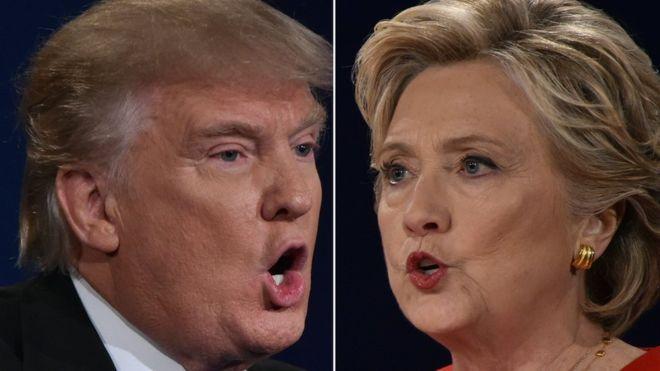 Elecciones en Estados Unidos: los cinco grupos que decidirán quién será el próximo presidente - BBC Mundo. Mujeres blancas con título universitario. Republicanos anti-Trump. Puertorriqueños. Mormones. Hombres blancos sin título universitario.