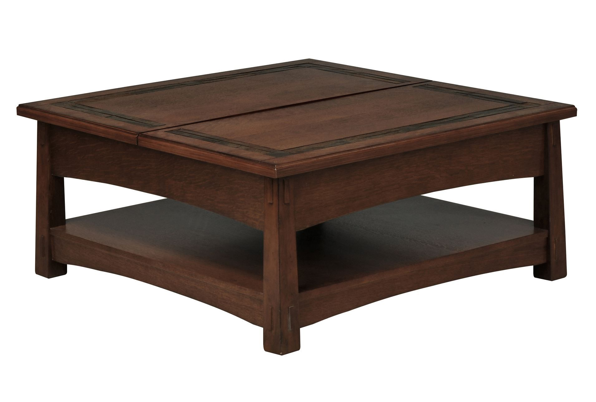 Brooks Square Lift Top Cocktail Table Coffee Table Living Table