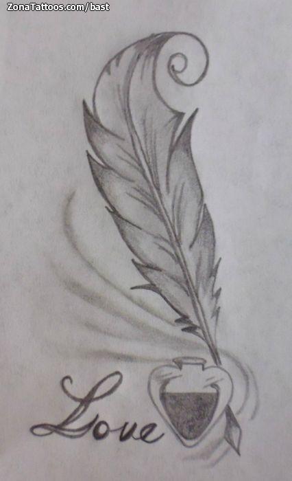 Tintero con pluma tattoo buscar con google tattoo for Atomic tattoo lakeland fl