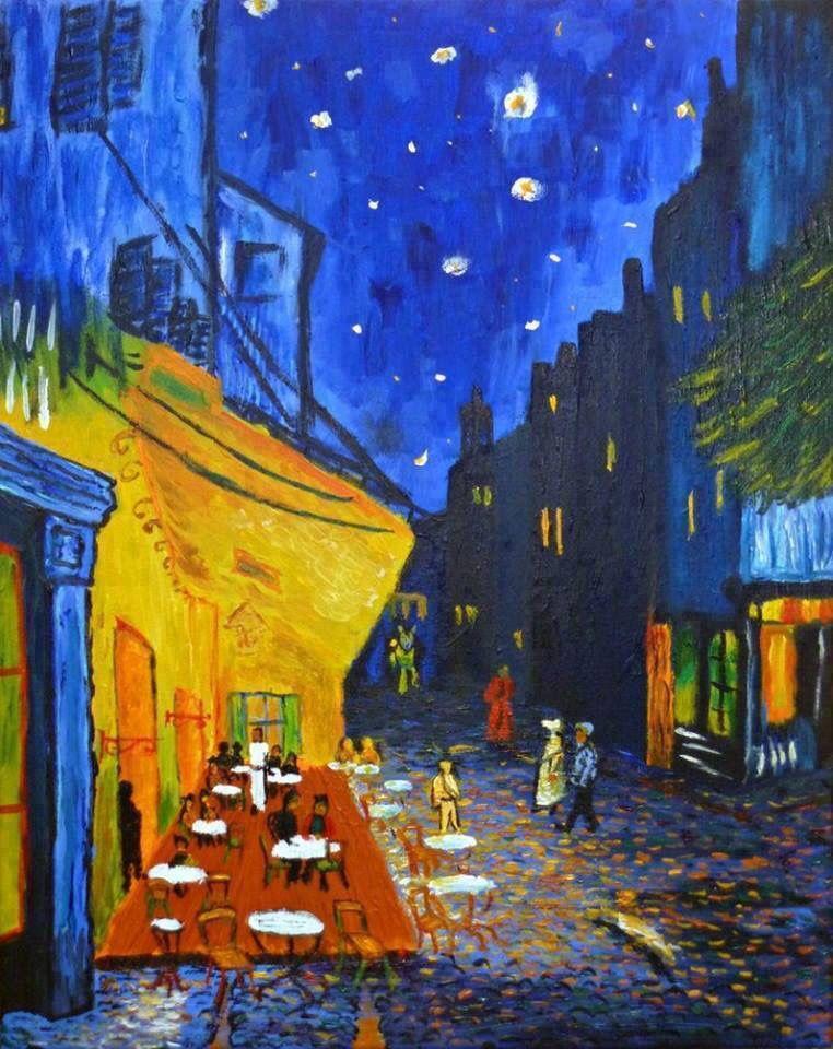 Vincent Van Gogh Terrazza Del Caffè La Sera Place Du Forum