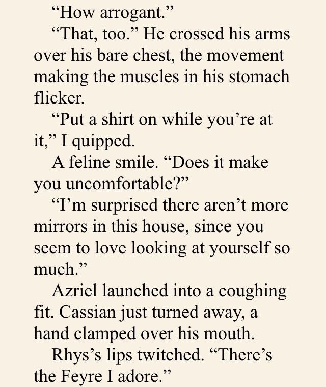 Mor Rigan Cassian And Azriel Be Like Az Trying To Cover Up