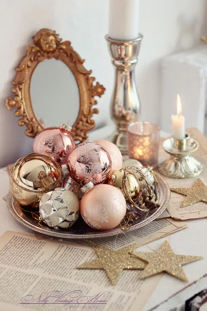 12 Rose Gold Diys To Fill Your Home This Holiday Season We Wish