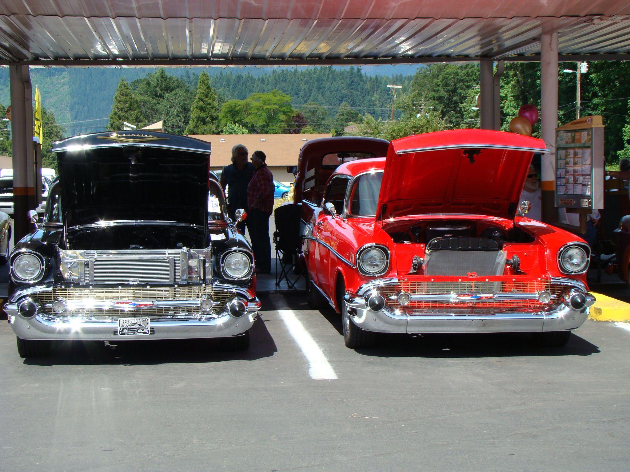 Oakridge Oregon show and shine held at A to celebrate 50 year ...