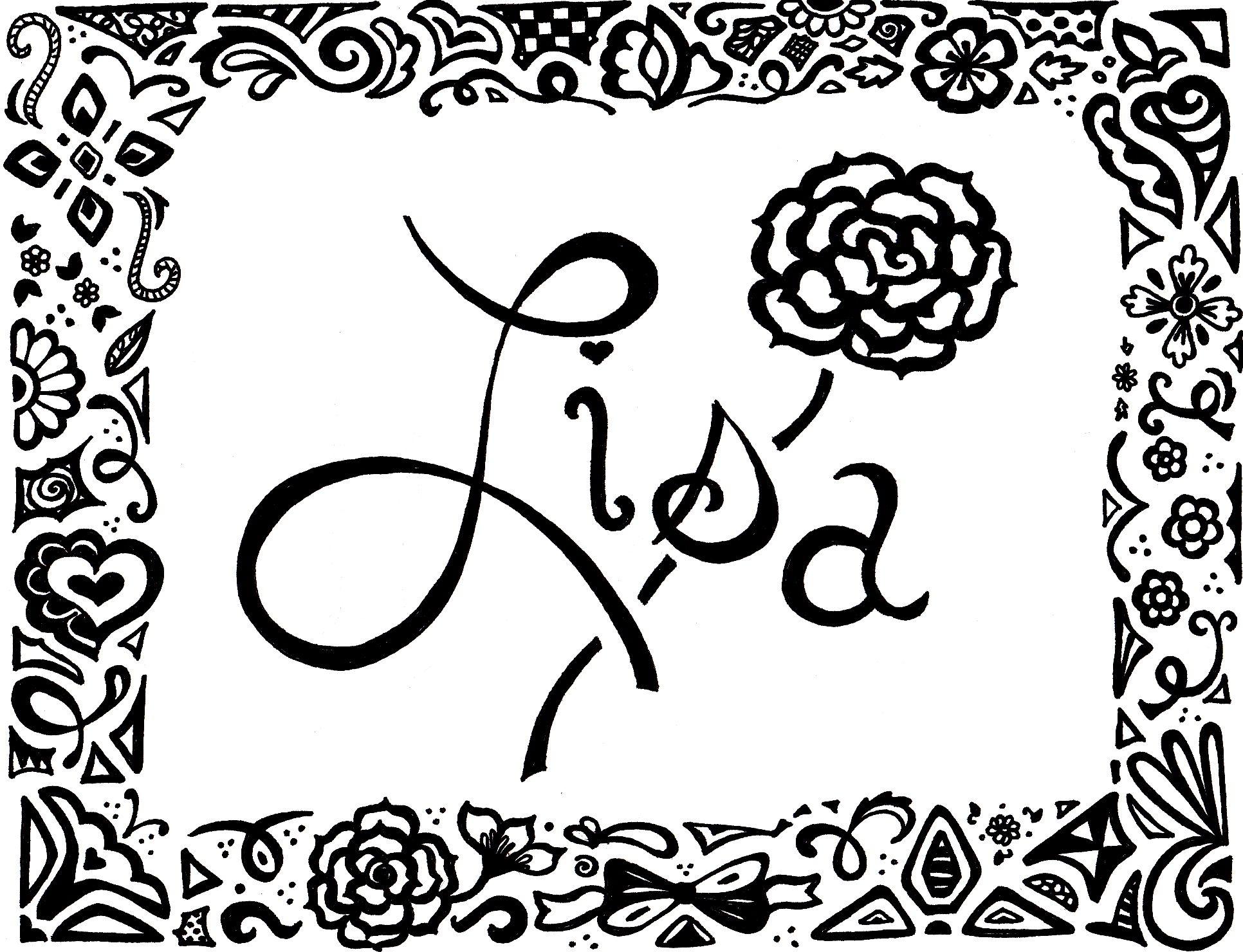 Doodle Lisa