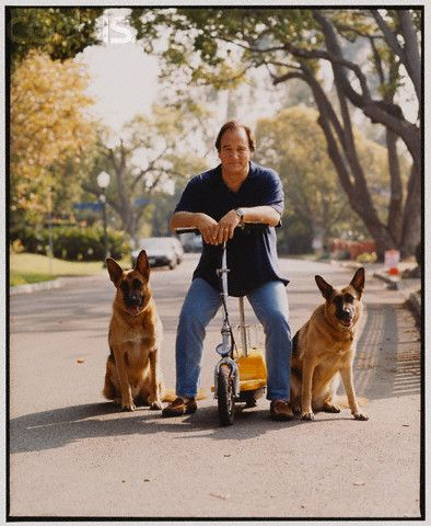 Celebrity Gsd James Belushi With Truly And Chooch German Shepherd Dogs German Shepherd Shepherd Dog