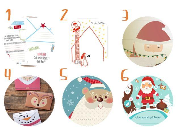 18 cartas a Papá Noel para descargar e imprimir gratis ...