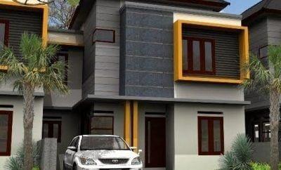 menawan desain rumah modern lantai 2 43 di inspirasi