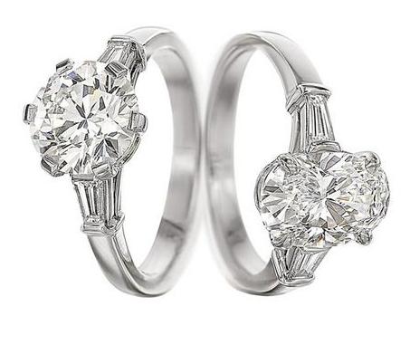 ed3be832d39f Solitario Griffe de Bulgari en platino y diamantes